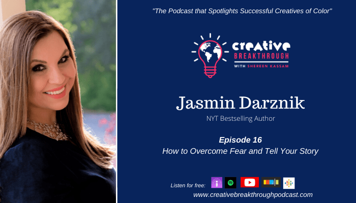 Episode 16: NYT Bestselling Author Jasmin Darznik: Tell Your Story