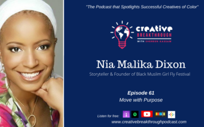 Move with Purpose: Storyteller Nia Malika Dixon