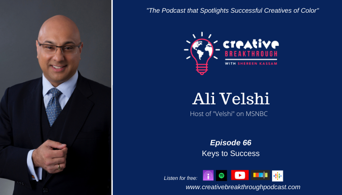 MSNBC's Ali Velshi: Keys to Success